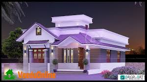 home design 952 sq ft single floor contemporary home designs