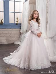 kids wedding dresses kids wedding dresses 2017 sleeves sweep modern flower