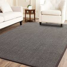Natural Jute Rugs A1hc Indoor Hand Finished Natural Sisal Rug With Cotton Border