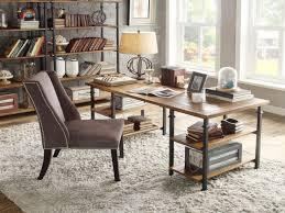 Rustic Modern Desk by Vintage Desks For Home Office Tribecca Home Myra Vintage