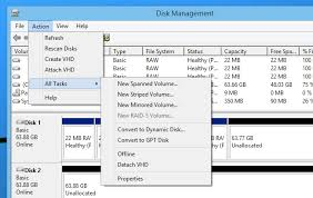 windows admin understanding hard drive partitioning with disk