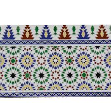 marokkanische fliesen bordüre bahia bei ihrem orient shop casa moro