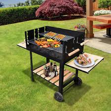 cuisine barbecue trolley charcoal bbq barbecue grill patio outdoor garden