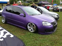 volkswagen purple mk5 air ride southern worthersee humble mechanic