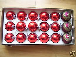 set of 18 pyramid glass decorative ornaments ebay