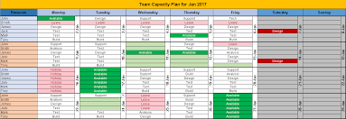 excel team calendar template free download plan monthly schedule