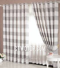 Grey And White Striped Curtains Popular Of Grey White Striped Curtains Decorating With And White