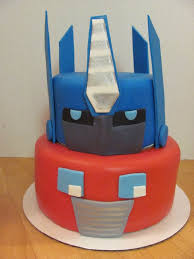 optimus prime cakes whimsy cakes optimus prime transformers cake kids