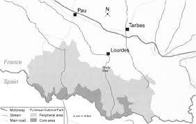 Lourdes France Map by Spontaneous Ash Tree Reforestation In The Central Pyrenees A
