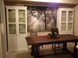rustic java greyson fixed dining table world market furniture