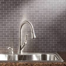 Brushed Stainless Steel Backsplash by Developing A Modern Kitchen Area With A Stainless Steel Backsplash