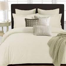 Sateen Duvet Cover King Buy Ivory Solid Duvet Covers From Bed Bath U0026 Beyond