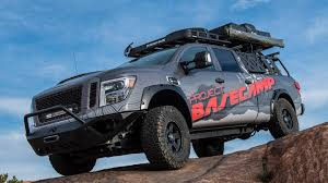 custom lifted nissan armada nissan debuts custom off road ready titan xd pro 4x the drive