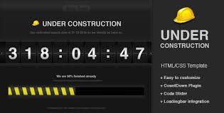 html layout under under construction countdown themeforest template html others