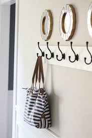 furniture unique wall mounted coat rack in tree brach design with