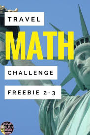 travel math images Adventure awaits with a free travel themed math challenge i jpg