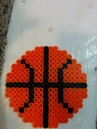 Halloween Perler Bead Templates by Basketball Perler Beads Pinterest Perler Beads Beads And