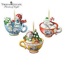 kinkade teacup ornament collection sweet teas
