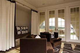 extra wide curtain panels living room beach with brown rug