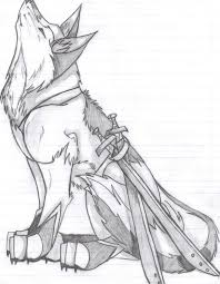 wolf sketch by wolfdemon001 on deviantart