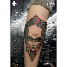 ufo tattoo on arm best tattoo ideas gallery