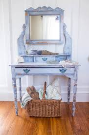 Blue Vanity Table A Dressing Table Named Jenny Finding Silver Pennies