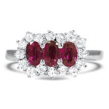 ruby engagement ring ruby engagement rings brilliant earth