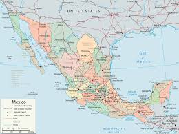 Mexican State Map by Map Of Cancun Mexico Map Mexico Mexico Pinterest Caribbean