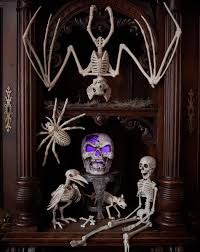 decorating home for halloween skeletons spook up any home for halloween halloween decorating