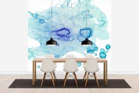 colour puddle wall mural photo wallpaper photowall