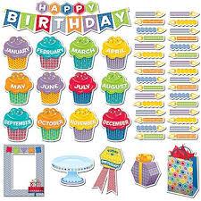 birthday board creative teaching press mini bulletin board set hexafun happy