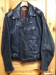 denim motorcycle jacket vintage motorcycle wear eijucraft