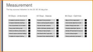 30 60 90 day plan best 30 60 90 day plan template free