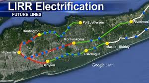 Lirr Map Officials Push To Electrify Lirr Train Lines In Suffolk County