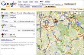 maps driving directions road map direction driving major tourist attractions maps