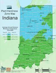 Growing Zone Map Indiana Plant Hardiness Zone Map U2022 Mapsof Net