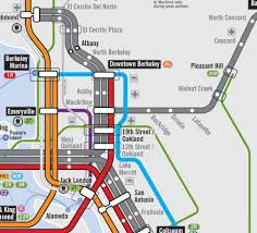 Bart Lines Map by Bay Area Transit Map A Possible Future