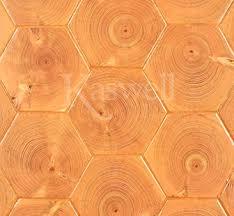 hexagon fir blocks wood block flooring kaswell flooring systems