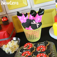mickey mouse baby shower decorations mickey minnie mouse party favors plastic knives forks spoons kids