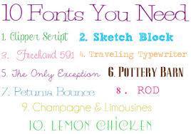 jenna blogs 10 free fonts you need