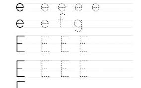 free worksheets printable letter e worksheets free math