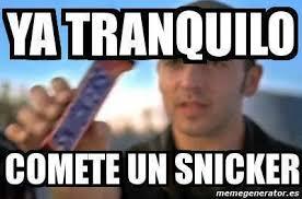 Un Meme - jajaja meme risa comete un snicker spanish quotes pinterest