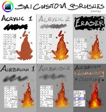 244 best paint tool sai brushes images on pinterest art