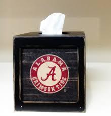 Alabama Crimson Tide Home Decor by Alabama Crimson Tide Tissue Box Cover We U0027re Good Sports