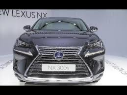 2018 lexus nx 300 showcased at frankfurt motorshow interior