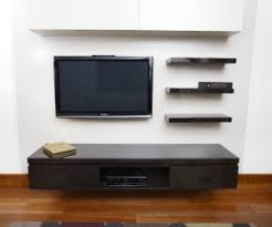 Floating Shelves For Tv by Wall Mounted Media Cabinet Full Image For Small Wooden Storage