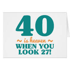 funny birthday 40 year old note cards zazzle co nz