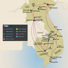 Spirit Route Map by Tailormade Laos Tours U0026 Holidays Travel The Unknown