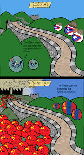 Funny Meme Comic Strips - great wall of china countryball pinterest china walls and memes