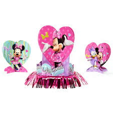 minnie mouse table decorating kit birthdayexpress com